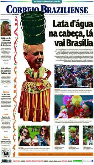 Correio Braziliense, 28 de Ferveiro de de 2017