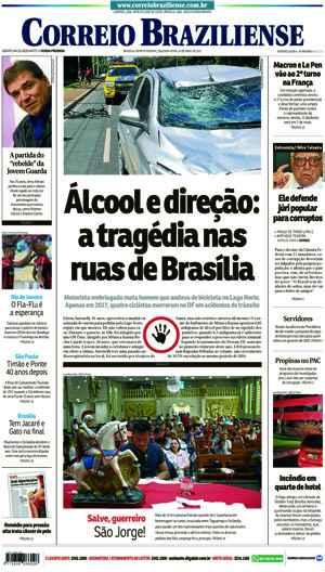 Correio Braziliense, 24 de Abril de 2017