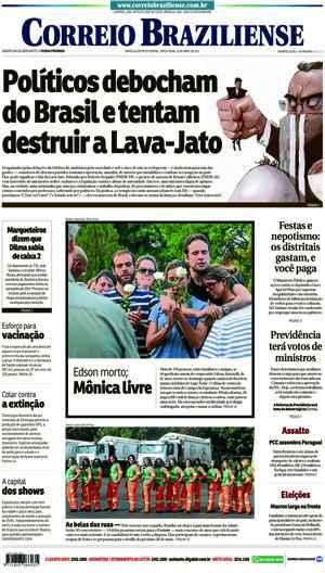 Correio Braziliense, 25 de Abril de 2017