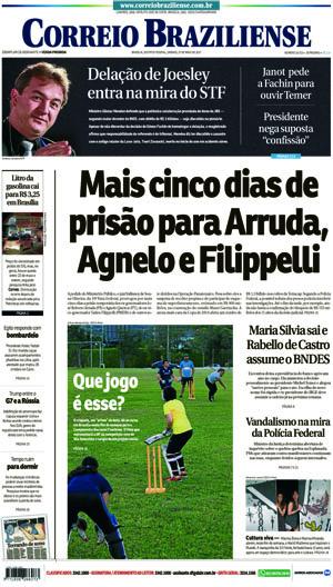 Correio Braziliense, 27 de Maio de 2017