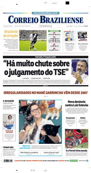 Correio Braziliense, 28 de Maio de 2017