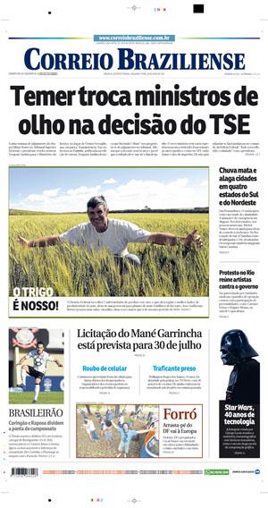 Correio Braziliense, 29 de Maio de 2017