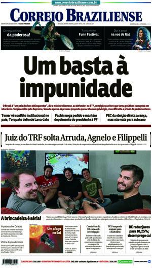 Correio Braziliense, 01 de Junho de 2017