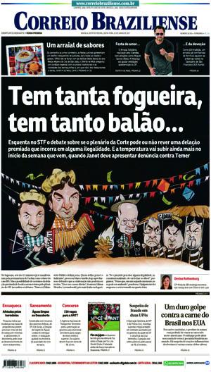 Correio Braziliense, 23 de Junho de 2017