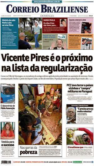 Correio Braziliense, 25 de Junho de 2017