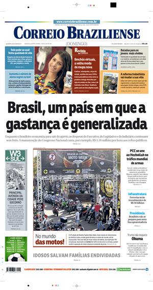 Correio Braziliense, 23 de Julho de 2017