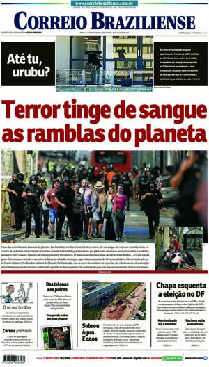 Correio Braziliense, 18 de Agosto de 2017