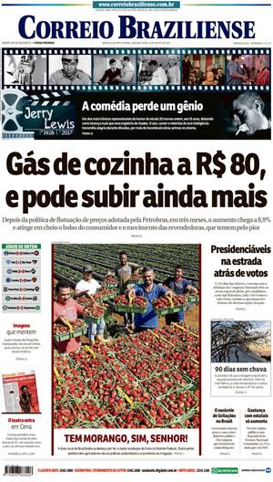 Correio Braziliense, 21 de Agosto de 2017