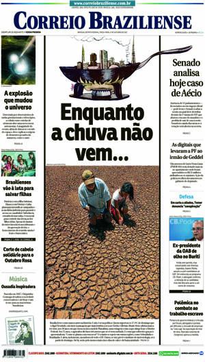 Correio Braziliense, 17 de Outubro de 2017