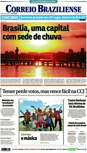 Correio Braziliense, 19 de Outubro de 2017