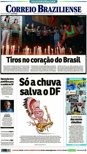 Correio Braziliense, 21 de Outubro de 2017