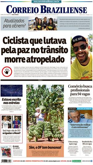 Correio Braziliense, 23 de Outubro de 2017