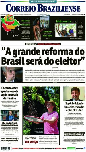 Correio Braziliense, 19 de Novembro de 2017