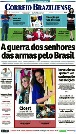Correio Braziliense, 17 de Dezembro 2017
