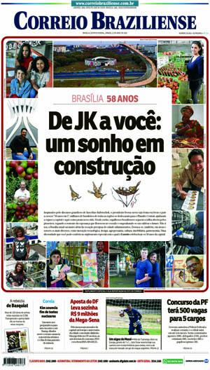 Correio Braziliense, 21 de Abril de 2018