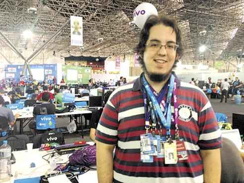 Fernando Jorge esteve seis vezes na CPBr e diz que o foco do evento não é mais a curtição (Michelle Macedo/CB/D.A Press)