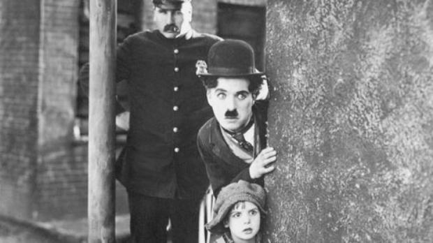 Em O garoto, Chaplin mistura fic��o � realidade vivida (Acervo Continenta/Reprodu��o)