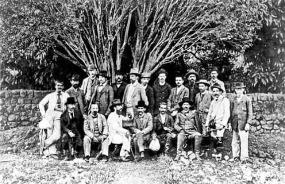 Os integrantes da Missão Cruls demarcaram 14,4 mil quilômetros quadrados na futura capital federal: Planalto Central explorado entre 1892 e 1894 (Luiz B. Neto/Reprodução/ArPDF)