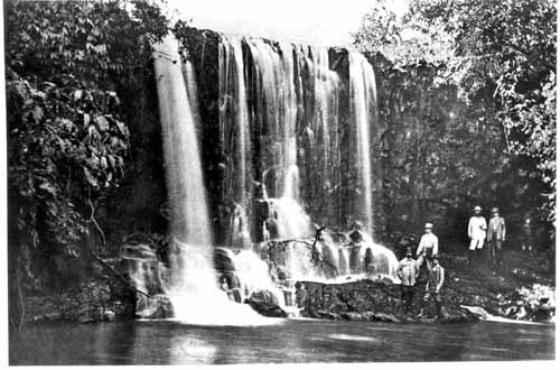 Cachoeira do Rio Cassu (Autor desconhecido/ArPDF)