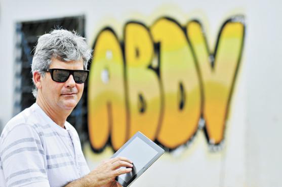 César Achkar, presidente da ABDV: parcela da população brasileira ignorada (Breno Fortes/CB/D.A Press)