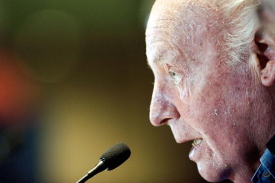 O escritor uruguaio Eduardo Galeano será o homenageado internacional do evento (Pedro Pardo/AFP - 9/11/12 )