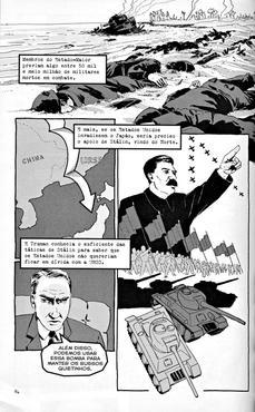 Figuras emblemáticas aparecem nos quadrinhos (Editora 3 Estrelas/Reprodução)