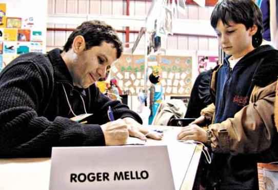 Roger Mello, em entrevista  após receber prêmio:
