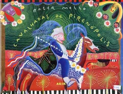 Ilsutração para livro sobre as Cavalhadas: pesquisa iconográfica orienta o artista