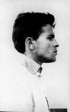 Honestino Guimarães, na década de 1960: tortura só foi incluída no atestado de óbito em 2012 (Reprodução: Correio Braziliense   )