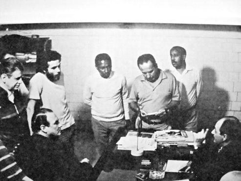 Dirigentes do Botafogo se reuniram com Afonsinho para exigir barba e cabelos aparados: desobediência culminou no exílio profissional (Arquivo Pessoal )