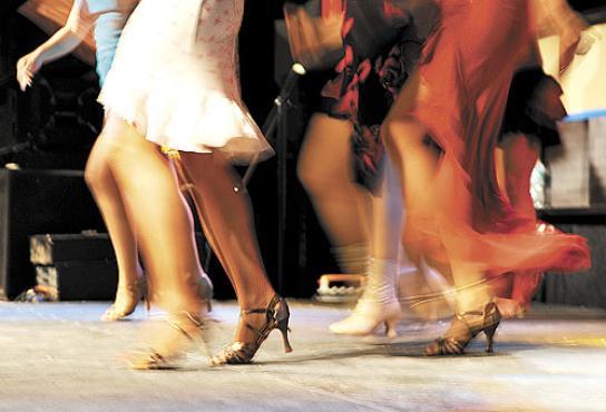 Ensaio em casa de shows nos Estados Unidos: m�sicas com grau moderado de complexidade r�tmica geram mais prazer e maior vontade de dan�ar (Stan Honda/AFP/27/6/11)