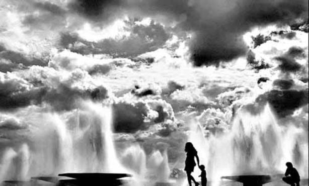 Foto feita por Orlando Brito inspirada na frase de Lucio Costa: ajuda na preservação da visibilidade da linha do horizonte (Orlando Brito/Esp. CB/D.A Press - 1992)