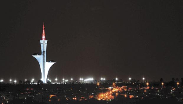 Torre de TV Digital (Daniel Ferreira/CB/D.A Press)