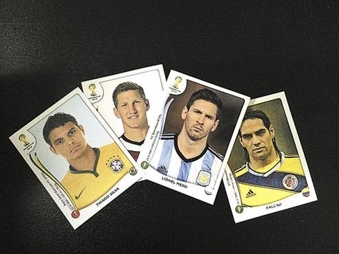 Os craques retratados nas imagens nem sempre são os que disputarão o Mundial (Luís Tajes/CB/D.A Press)