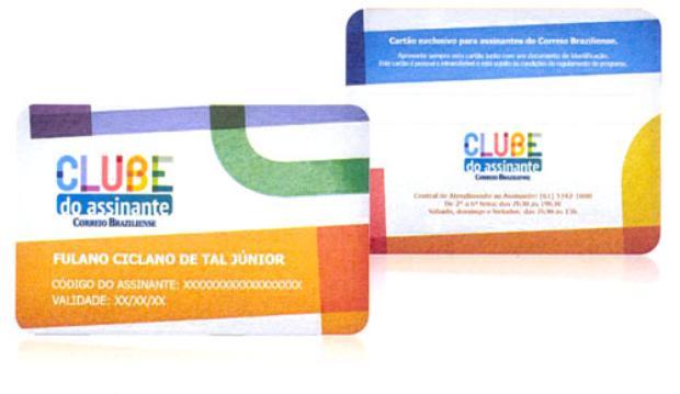 Os integrantes do Clube  poderão solicitar o cartão rígido  (Correio Braziliense/CB/D.A Press)