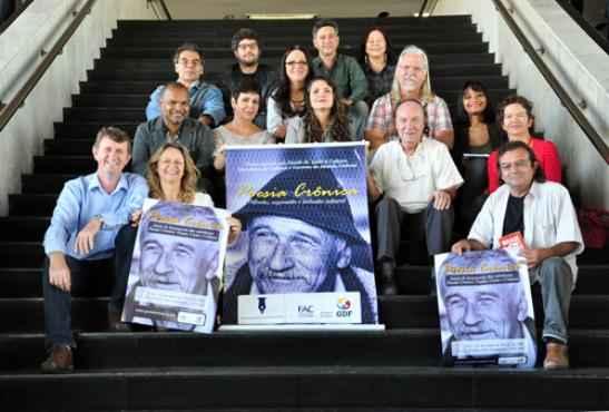 Os autores participantes do projeto são todos brasilienses ou têm uma relação intensa com a cidade