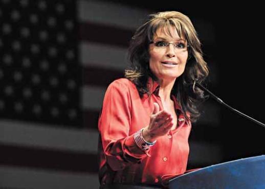 Sarah Palin, líder da ala mais conservadora do Partido Republicano dos EUA: eleitores menos progressistas resistem mais às candidatas pouco femininas  (Jonathan Ernst/Reuters - 10/10/2012)