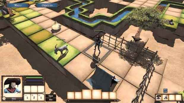 Alguns títulos se diferenciam no mercado com cenários e personagens brasileiros, como o jogo Cangaço, criado pela Sertão Games (Sertão Games/Divulgação)