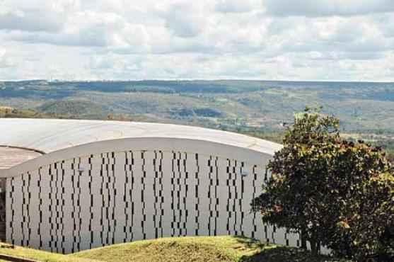 Casa projetada por Lelé para o amigo Roberto Pinho (Zuleika de Souza/CB/D.A Press - 5/5/14 )
