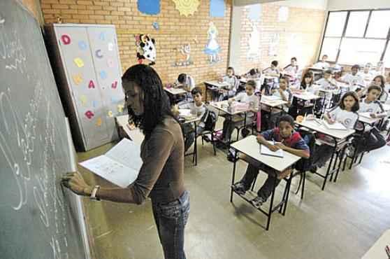 O PNE prevê a destinação de 10% do PIB para o ensino até 2024 (Euler Junior/EM/D.A Press - 21/2/08)
