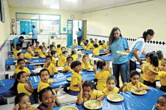 A instituição atende 155 crianças de 2 a 5 anos (Antonio Cunha/CB/D.A Press)