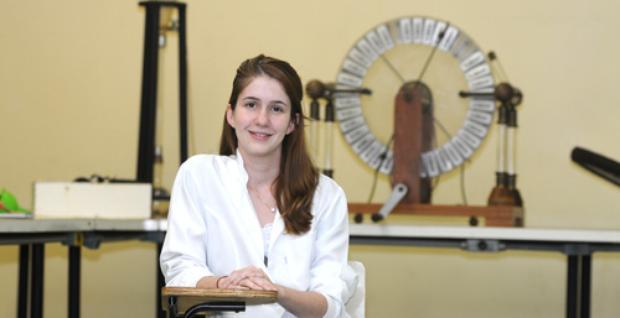 Isadora Vitti escolheu o curso de biotecnologia pela oportunidade de fazer descobertas importantes para tratamentos médicos em laboratório (Carlos Moura/CB/D.A Press )