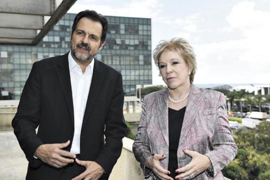 No projeto anunciado por Agnelo Queiroz e Marta Suplicy, o visitante terá ao alcance o verde e a tecnologia de ponta ao chegar ao museu (Breno Fortes/CB/D.A Press)