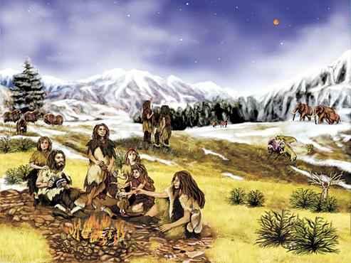 A ingestão de vegetal pode ter contribuído para a extinção do neandertal  (Nasa/Divulgação)