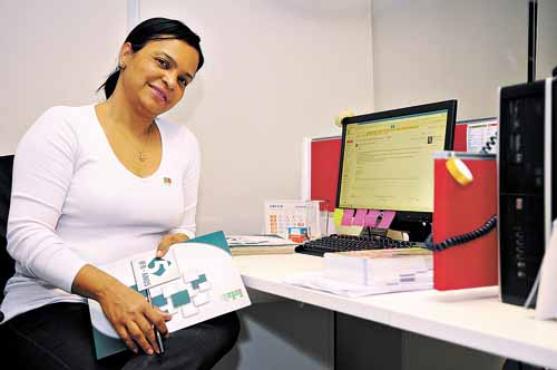 Depois de já ter sido aluna, estagiária e funcionária no local, Sônia quer ser servidora pública no instituto (Janine Morais/CB/D.A Press )