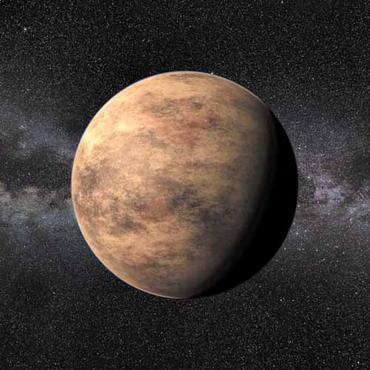 Cientistas até imaginaram a aparência do Gliese 581d, mas ele não existe