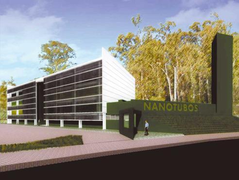 Perspectiva da sede onde funcionará o CTNanotubos: ponte entre a universidade e a indústria  (CTNanotubos/Divulgação)