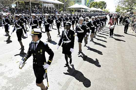 Desfile da Independ�ncia: Ex�rcito estuda liberar inscritos no certame (Daniel Ferreira/CB/D.A Press - 7/9/11)