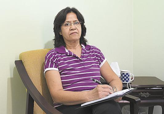 Francisca Lucia continua a trabalhar mesmo estando aposentada  (Ed Alves/CB/D.A Press  )
