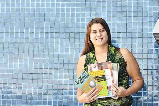Juliana ficou surpresa com a cobrança de raciocínio lógico na prova (Gustavo Moreno/CB/D.A Press  )